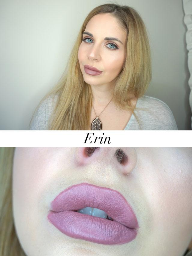 Maybelline x Gigi Hadid matte lipstick in Erin