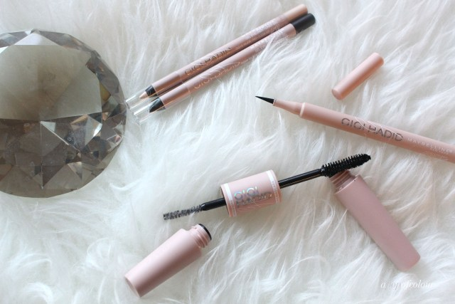 Maybelline x Gigi Hadid collection eyeliners and mascara