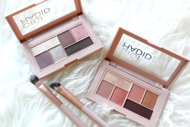 Maybelline x Gigi Hadid collection eyeshadow palettes