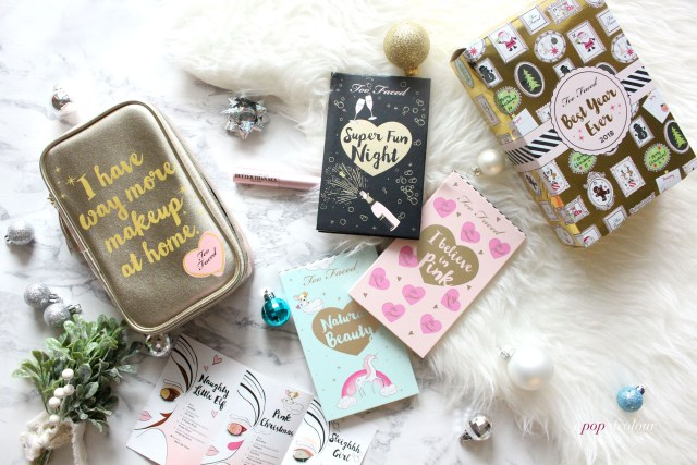 Too Faced Cosmetics Beat Year Ever set