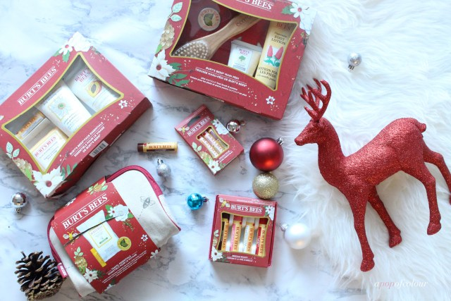 Burt's Bees holiday sets for 2017