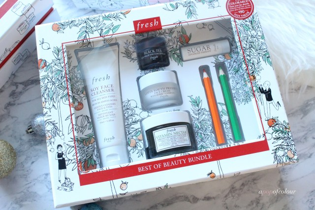 Fresh Best of Beauty Bundle gift set for holidays 2017