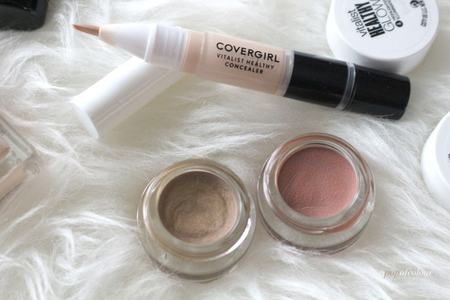 CoverGirl Vitalist collection highlighters and concealer