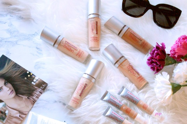Rimmel London Lasting Finish Breathable foundations and concealers
