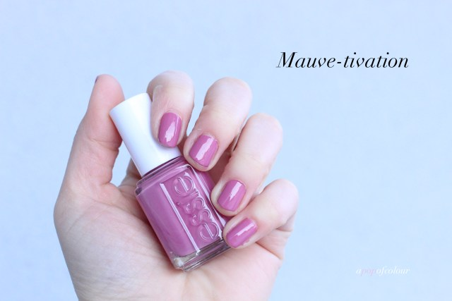 Essie Mauve-tivation