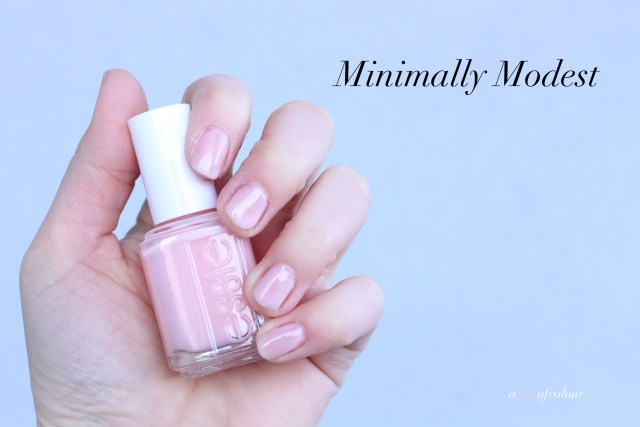 Essie Minimally Modest