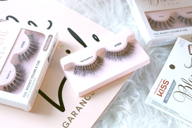 Kiss Blowout lashes in Pompadour