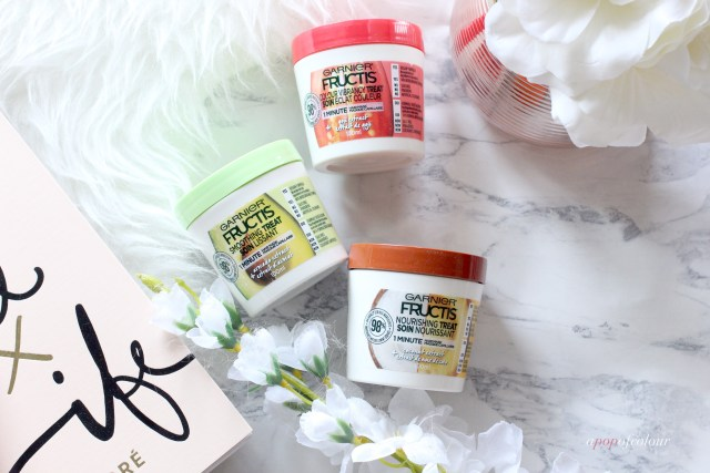 Garnier Fructis One-Minute masks