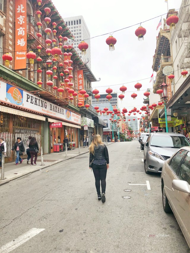 Walking in San Francisco Chinatown