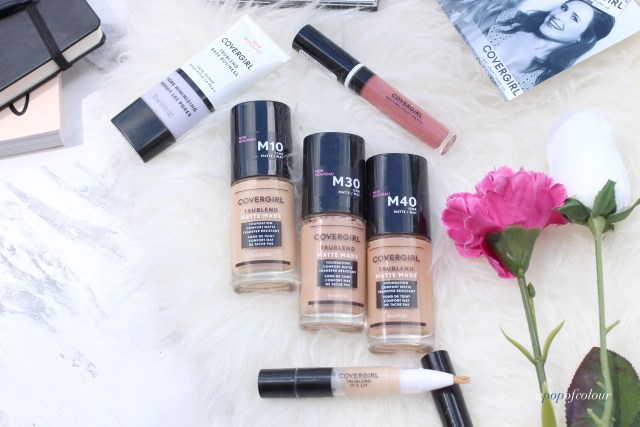 CoverGirl TruBlend Matte Made foundations