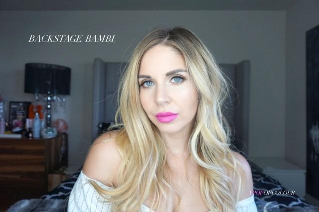 Kat Von D Beauty Studded Lipstick swatch in Backstage Bambi