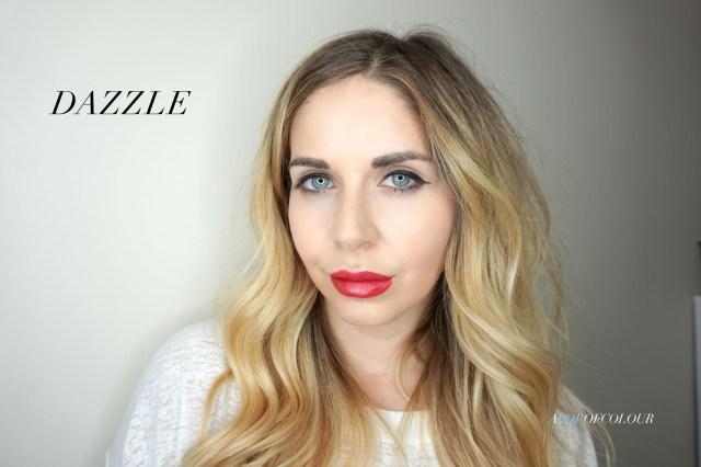 Kat Von D Glimmer Veil lipstick in Dazzle