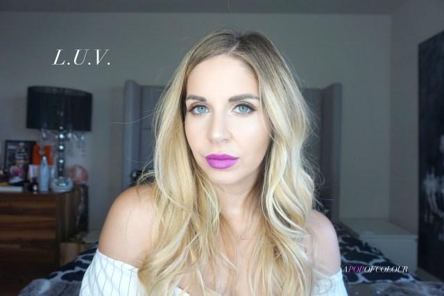 Kat Von D Beauty Studded Lipstick swatch in L.U.V.