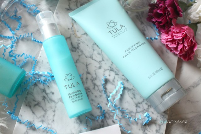 Tula Purifying Cleanser and Illuminating Face Serum