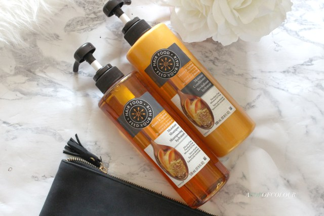 Hair Food Moisture Honey & Apricot Shampoo and Conditioner