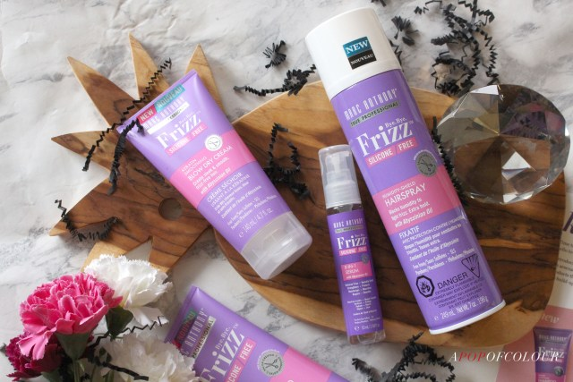 Marc Anthony Bye Bye Frizz Hairspray, Blow-dry Cream, and Serum