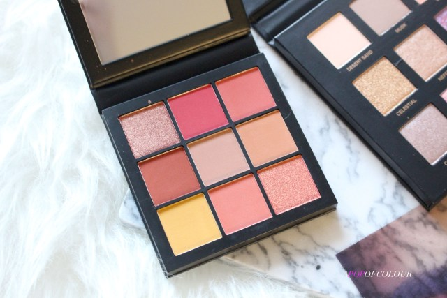 Huda Beauty Obsessions palette in Coral