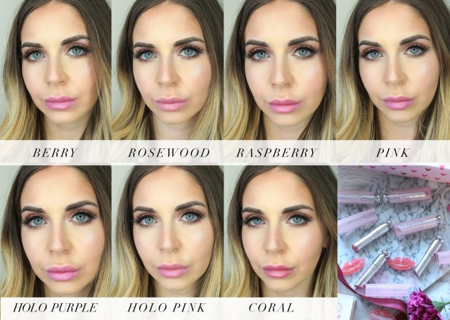 Dior Beauty Lip Glow To The Max Colour Reviver Balm swatches