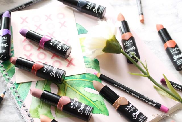 NYX Cosmetics Suede Matte lipsticks