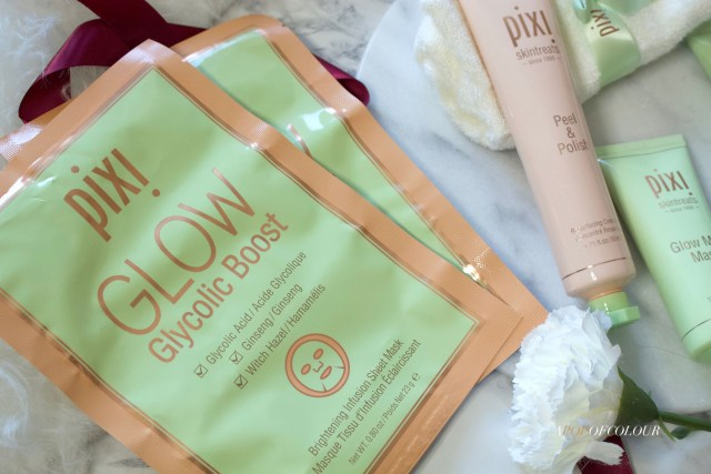 Pixi Beauty Glow Glycolic Boost Sheet Masks
