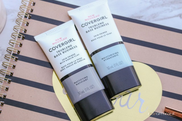 CoverGirl TruBlend Base Business Primers in Hydrating and Mattifying