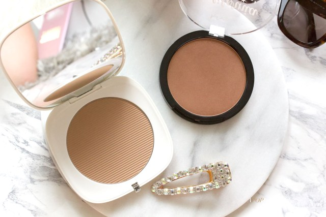 Marc Jacob O!Mega bronzer and NYX California Dreamin' bronzer