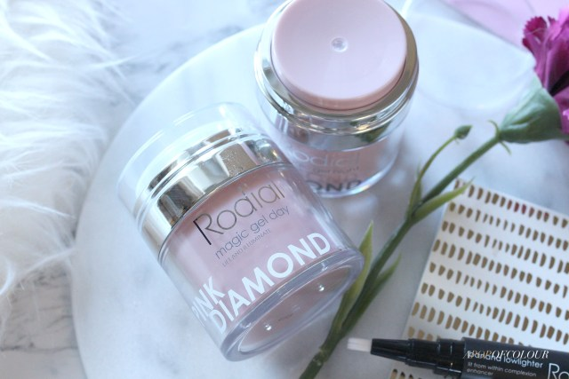 Rodial Pink Diamond Magic Gel Day and Night cream