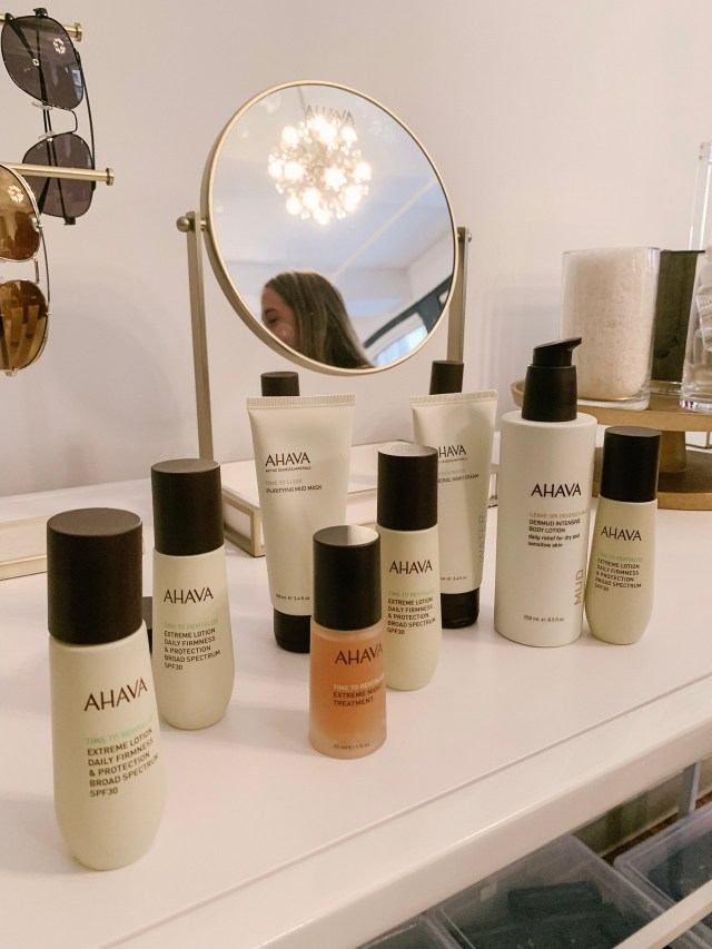 Ahava products at Tractenberg & Co. Studio gifting suite at NYFW SS20