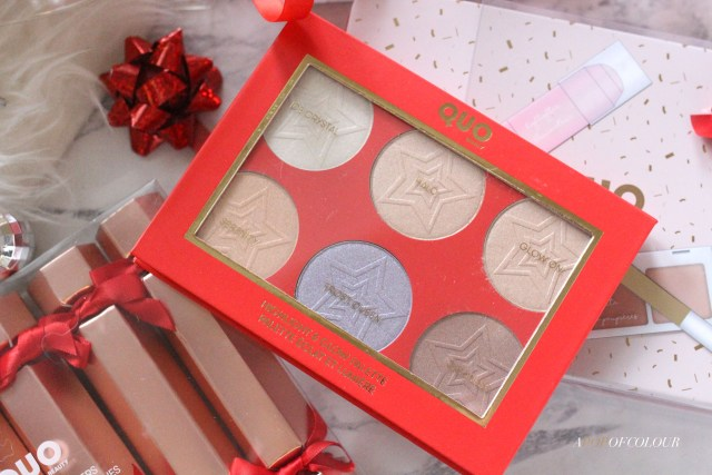 Quo Highlight and Glow Palette