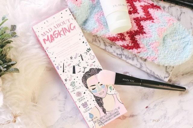 Mary Kay Cosmetics Mad About Masking set and mask brush