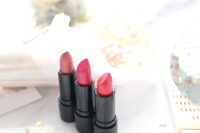 Avon Rouge Satin Kiss lipsticks