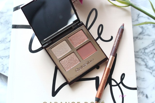 Charlotte Tilbury Copper Charge Luxury Palette and pencil
