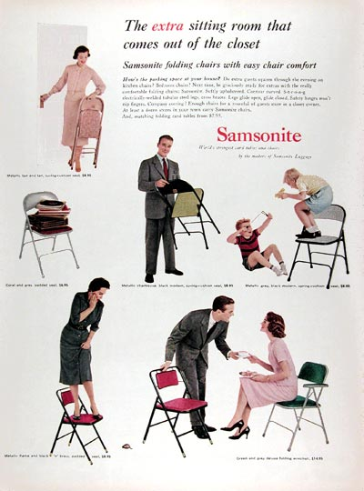 vintage decorating - Samsonite