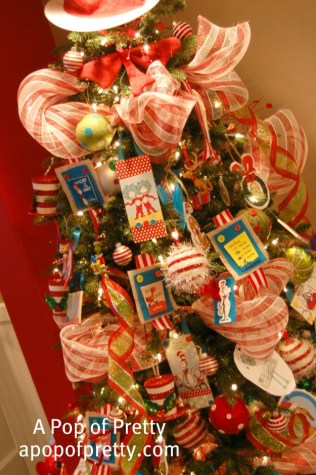 DIY Dr. Seuss Christmas Tree