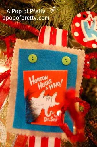 Dr. Seuss Christmas Decorations Horton Hears a Who