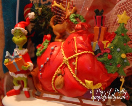 Grinch Christmas Tree Ornament