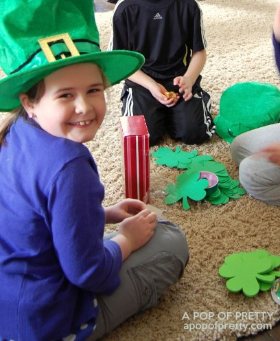 making a leprechaun trap
