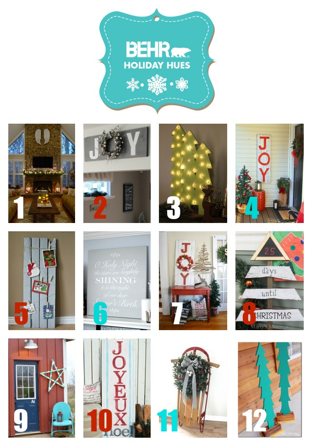 Behr Holiday Hues Project Challenge
