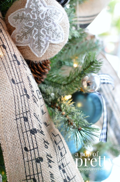French Inspired Christmas tree decorations 6
