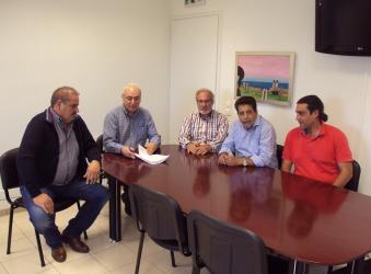 Υπογράφτηκε η σύμβαση για το δίκτυο ομβρίων στο Χόνδρο Βιάννου