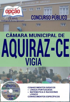 Apostila - VIGIA - Concurso Câmara Municipal de Aquiraz / CE 2016