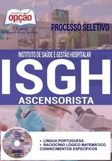 Apostila - ASCENSORISTA - Concurso ISGH 2016