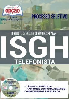 Apostila - TELEFONISTA - Concurso ISGH 2016