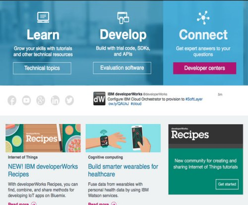 IBM Launches New Internet of Things Learning Portal for Developers