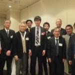 講演講師 藤川先生を囲んで