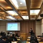 京都大学 農学部農学研究科 中川講師のご講演
