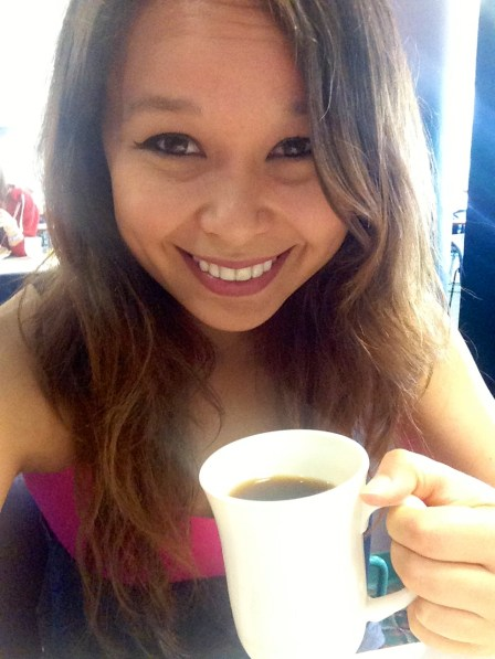 Coffee makes me a happy girl.