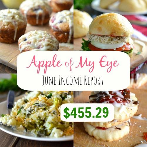 June Income Report