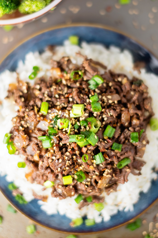 15 minute healthy asian beef bowl apple of my eye 15 minute healthy asian beef bowl forumfinder Image collections