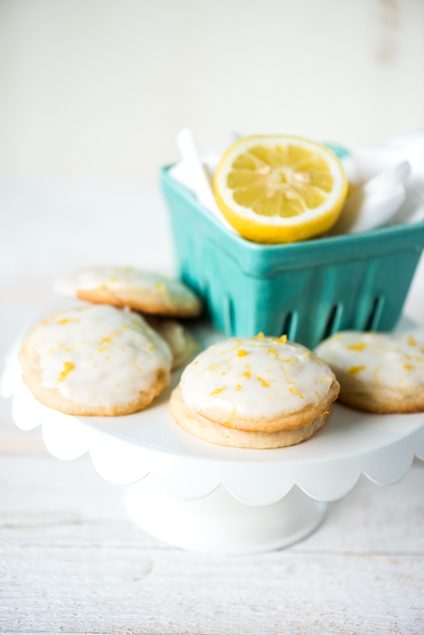 Lemonade Cookies- all the flavors of summer in a cookie! Done in just 30 minutes and so easy!